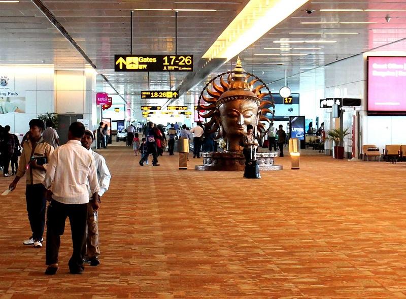 Аэропорт Нью Дели им. И.Ганди
