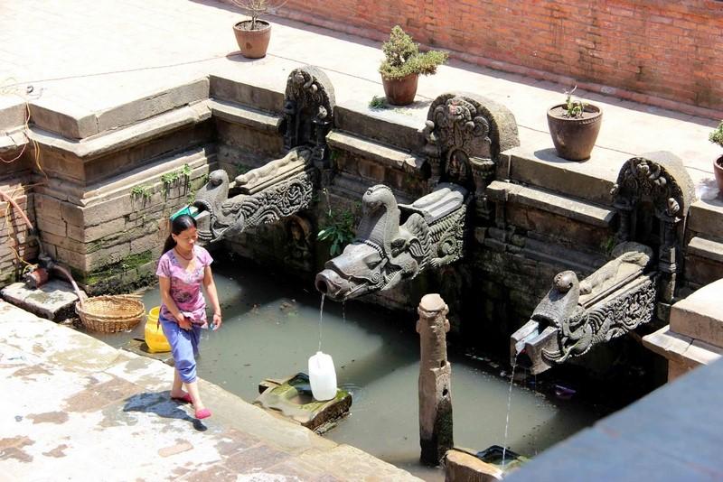 Древний водовод от родника