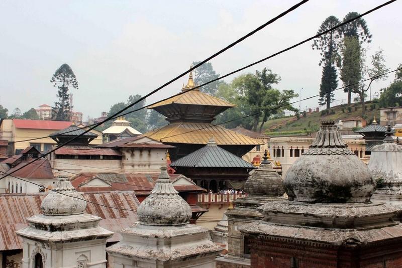 Золотой храм в Пашупатинатхе