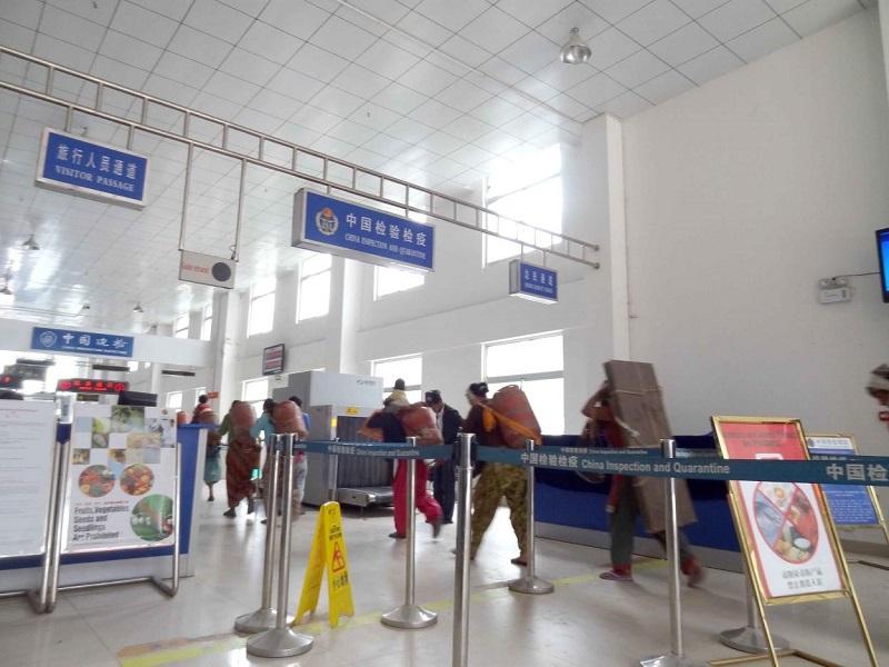 На границе с КНР