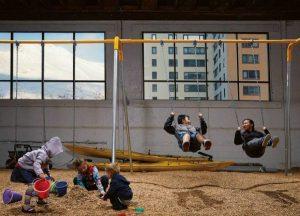 Уиттиер - детская площадка