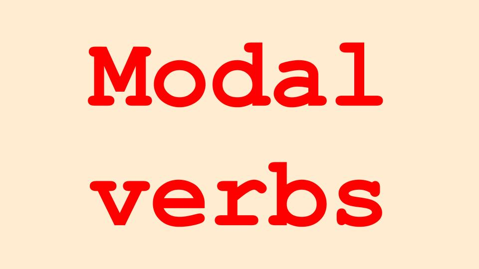 All Modal verbs in English Language Grammar